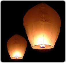 Eco-Friendly Flying-Floating Sky Lanterns